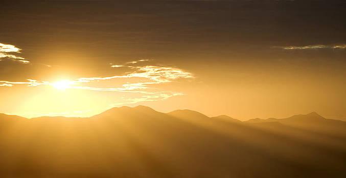Golden Arizona Sunset by Bryan Allen