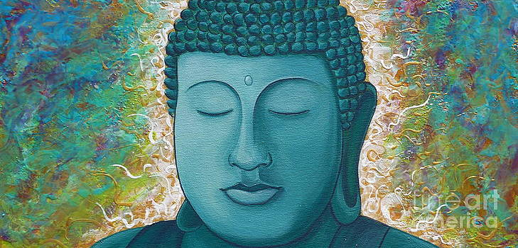 Golden Buddha by Gayle Utter