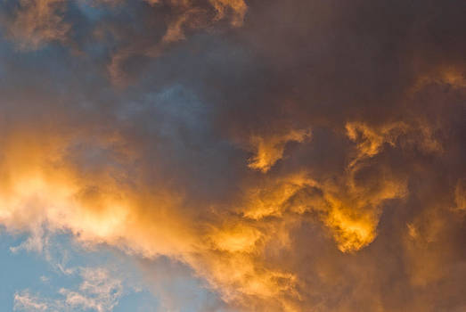 Golden Clouds by Margaretha Brooks