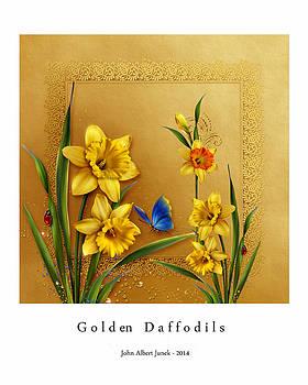 Golden Daffodils by John Junek