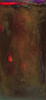 Jane Deakin - Golden Desert Oil On Canvas
