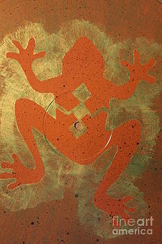Golden Frog by Doreen Lambert