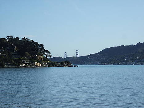 Golden Gate Bridge From A Far by Tawfiq Alkilani