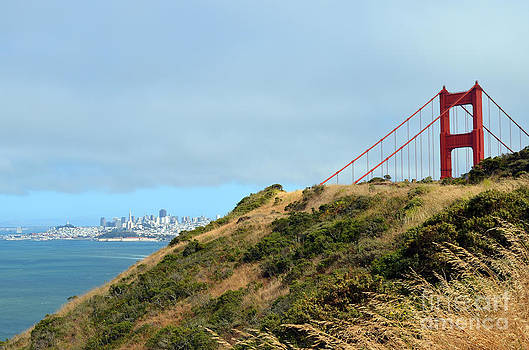 Golden Gate Bridge From Marin Headlands by Rincon Road Photography By Ben Petersen