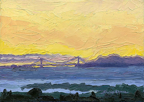 Golden Gate Bridge by Shalece Elynne