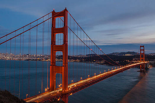 Golden Gate Glow by Matthew Riccio