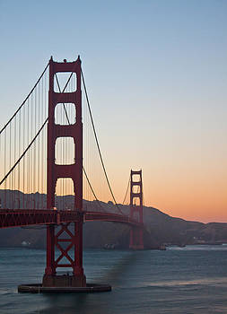 Golden Gate Sunset by Leah Kimper