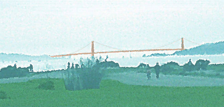 Golden Gate Today by James Raynor