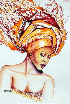 Golden Goddess by Maria Barry