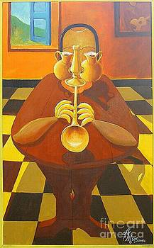 Golden Jazzman by David G Wilson