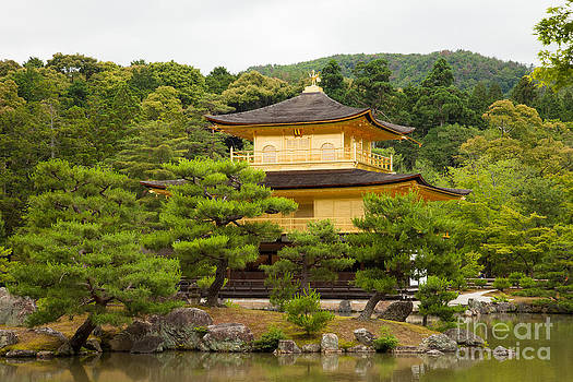 Fototrav Print - Golden Pavilion Kyoto  Kinkaku-ji