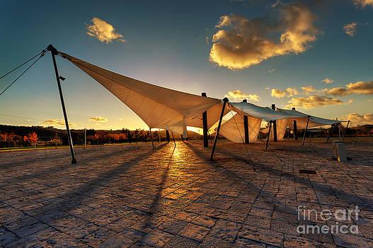 English Landscapes - Golden Sails