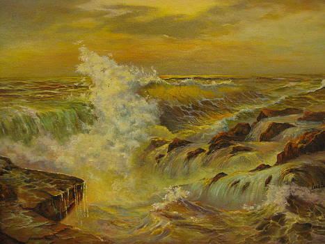 Golden Sea by Carol Bitz