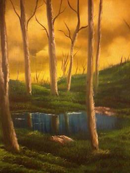 Golden Sky Delight by Ricky Haug