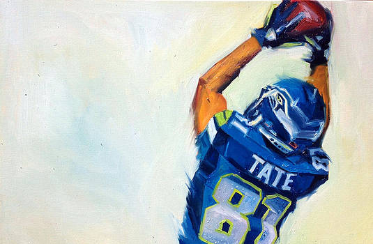 Golden Tate by Aaron Hazel