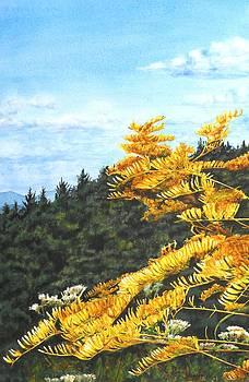 Goldenrods by Penny Johnson