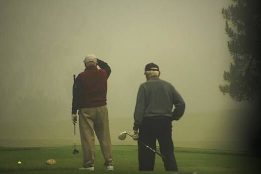 GOLF in a Fog by Max  Greene
