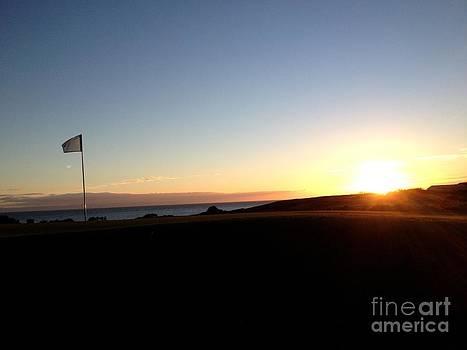 Golf set by Fergus Mitchell