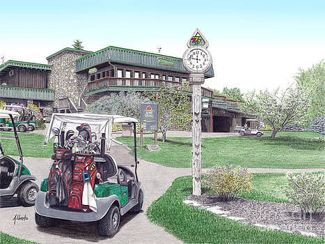 Golf Seven Springs Mountain Resort by Albert Puskaric