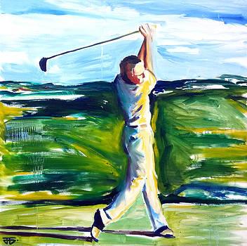Golf Swing by John Gholson