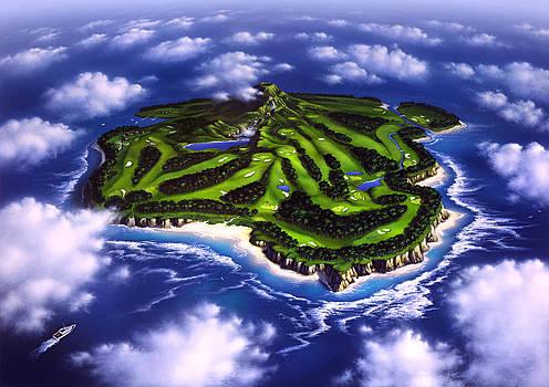 Golfer's Paradise by Jerry LoFaro
