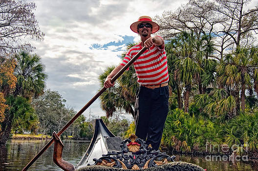 Kathleen K Parker - Gondola Ride in City Park New Orleans