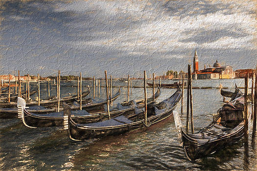 Gondolas with special effect by Susan Leonard