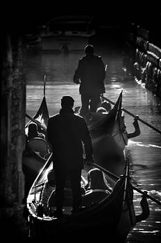 Gondoliers by Michael Carter