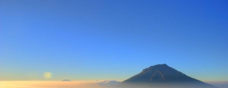 Good Morning Mt.Sumbing by Anthony Pratomo Putro