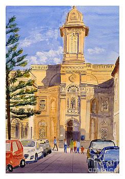 Good Sheperd chapel - convent by Godwin Cassar