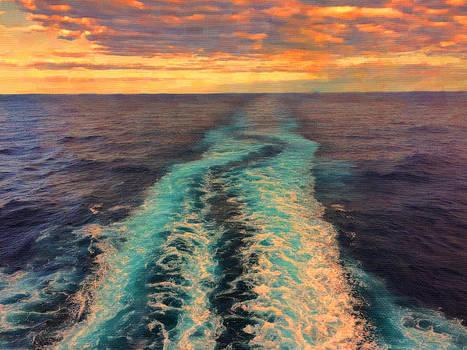 Goodbye Sunset by Kathy Jennings