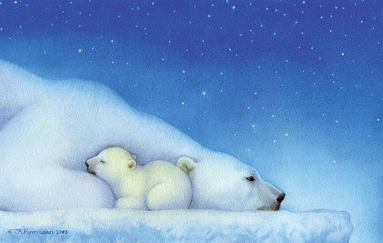 Goodnight Nanook Polar Bears by Tracy Herrmann