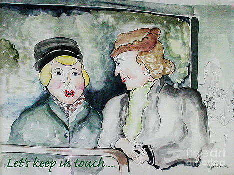 Gossip on the Bus by Joyce Gebauer