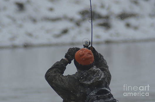 Randy J Heath - Gotcha   Steelhead fishing