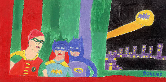 Gotham Heroes  by Don Larison