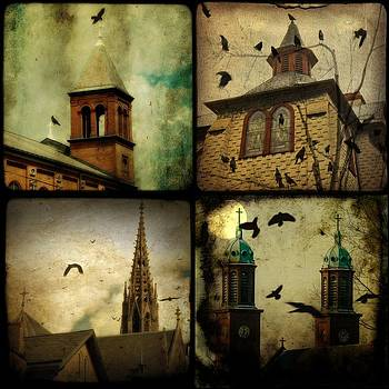 Gothicolors Donna Snyder - Gothic Churches And Crows