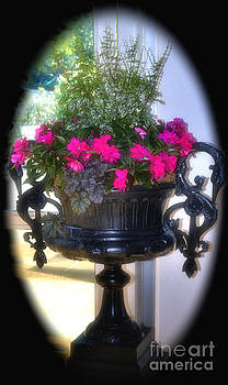 Gothic Flower Container by Eva Thomas