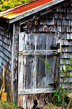 Gotta Go - Outhouse by Christine  Miller