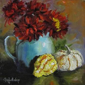 Gourd Painting IV by Cheri Wollenberg