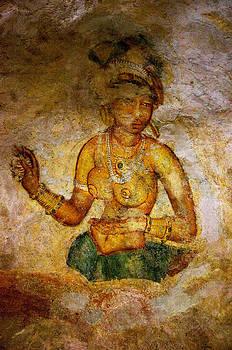 Jenny Rainbow - Graceful Absara. Sigiriya Cave Painting