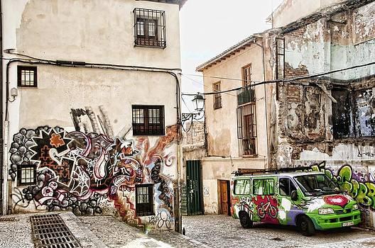 Graffiti City by Alicia Morales
