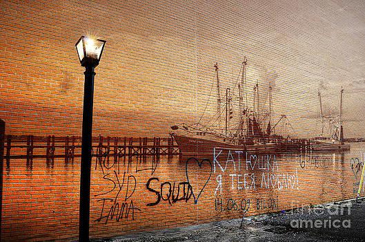 Graffiti by Maddalena McDonald