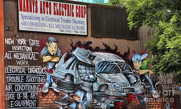 Chuck Kuhn - Graffiti NY I