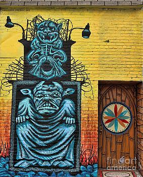 Chuck Kuhn - Graffiti V