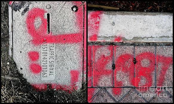 Marlene Burns - Graffito of Delray Beach