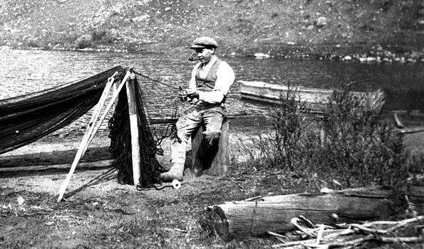Fishing 1929 by Dirk Lightheart