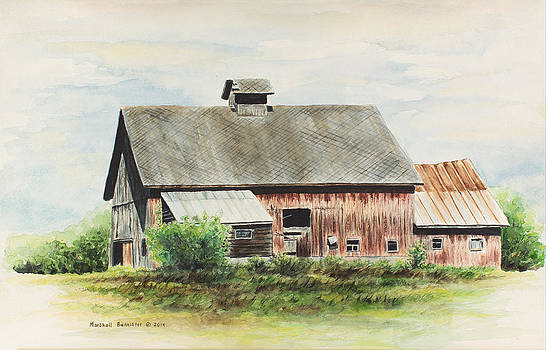 Gramp's barn 1 by Marshall Bannister