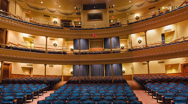 Allen Sheffield - Grand 1894 Opera House - View from Stage