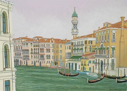 Grand Canal  by David Hinchen