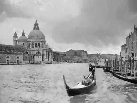 Grand Canal Venice Italy by Georgi Dimitrov
